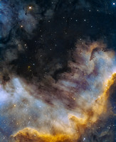 The Wall of NGC 7000