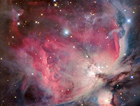 M42 Orion Nebula (colour)