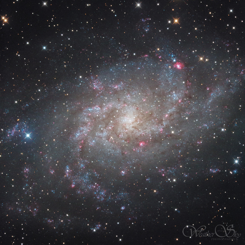 Kerry-Ann Lecky Hepburn: All Astrophotography &emdash; M33 Triangulum Galaxy