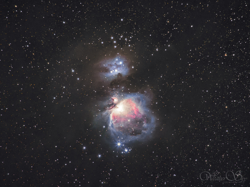 M42 with the Ioptron Skytracker